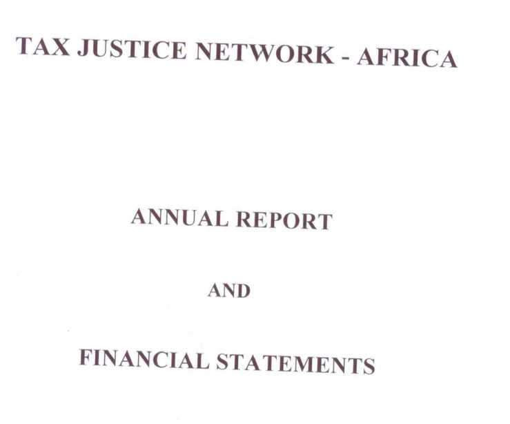 Audit Reports  Tax Justice Network Africa