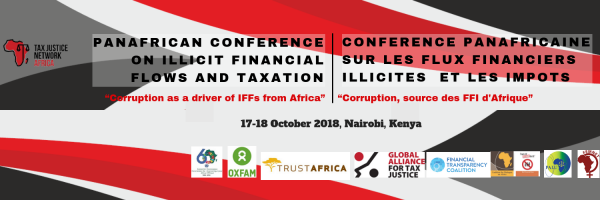 PAN AFRICAN CONFERENCE ON ILLICIT FINANCIAL FLOWS AND TAXATION