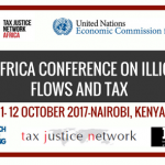 Pan African Conference on Illicit Financial Flows and Tax 2017