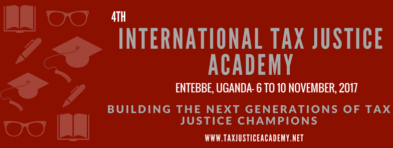 Save the Date: International Tax Justice Academy 2017